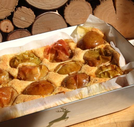 Apfel Griess Kardamom Kuchen Ofenkino